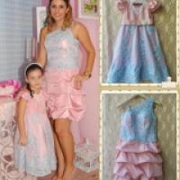 Tal mãe tal filha roupa festa, lindas combinações
