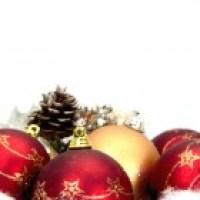 Bolas de Natal  de diversos tipos para decorar muito