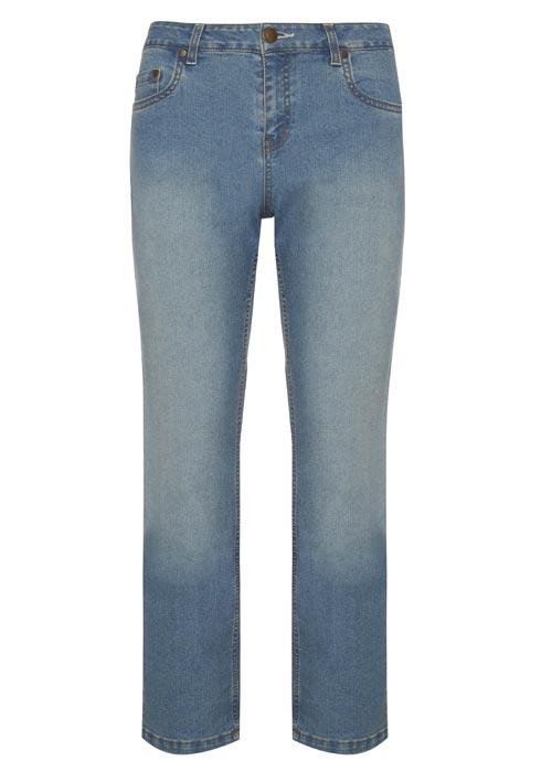 Jeans rectos: 10 euros
