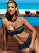 Beachwear - Tie Fascia Caramella - Tie Slip Alto Arriccio