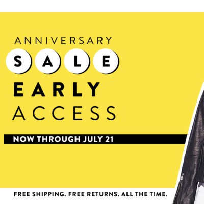 NORDSTROM ANNIVERSARY SALE FOR CARD HOLDERS