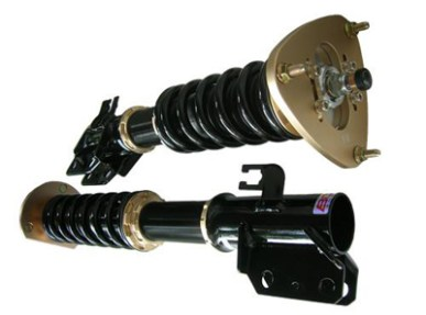 BR Series BC Racing Coilovers for BMW E46 M3 Close Up
