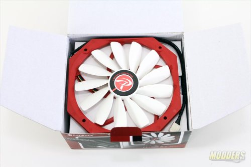 Raijintek Pallas Box Opened