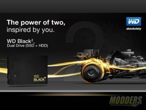 Mobile 2.5-inch Dual Drive (SSD + HDD) WD Black²