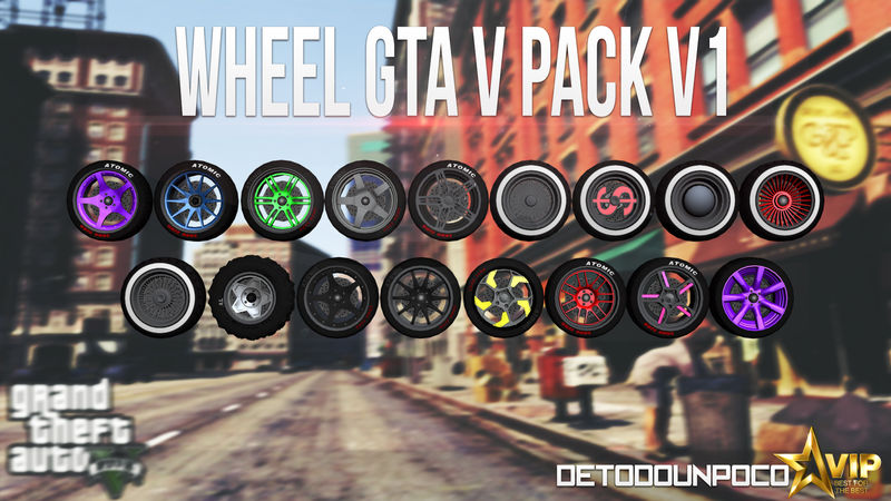 GTA San Andreas Yeni Jantlar - Wheel Pack v1