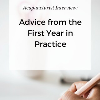 Advice from the first year out in acupuncture practice with Mara Carlini, LAc. What would she do differently? What was totally unexpected? www.ModernAcu.com