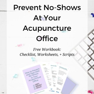 Hate when patients miss an appointment without calling first? Frustrated by patients who call 10 minutes before their appointment to let you know they won't be there? Learn how to drastically reduce the no-shows and missed appointments at your acupuncture office. Free checklist, adaptive scripts, and worksheets. You got this! www.ModernAcu.com
