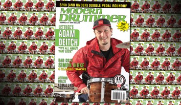 Adam Deitch on the February 2016 Issue of Modern Drummer Magazine