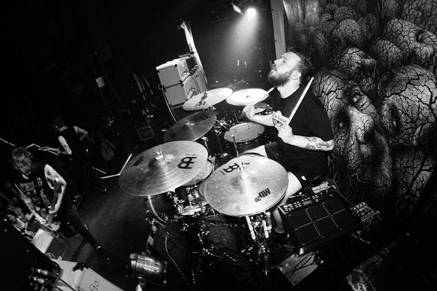 Adam Savage of While She Sleeps Drummer Blog