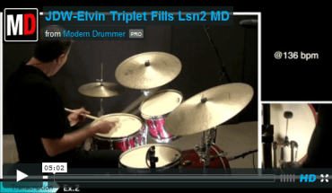 VIDEO LESSON! Elvin Jones–Style Triplet Fills, Part 2: Orchestrating Accent Patterns
