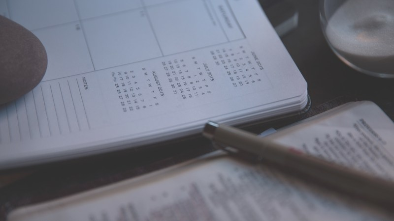 How To Plan A Preaching Calendar