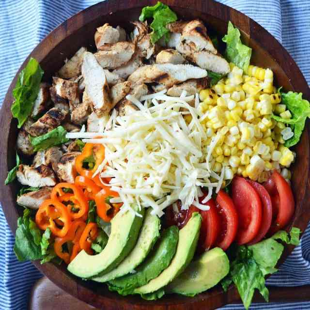 Southwest Chicken Chopped Salad with Cilantro Lime Ranch is brandhellip