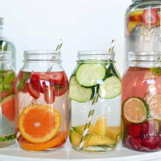 Spa Fruit Infused Detox Water by Modern Honey l www.modernhoney.com