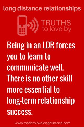 dating advice ways make long distance relationship work