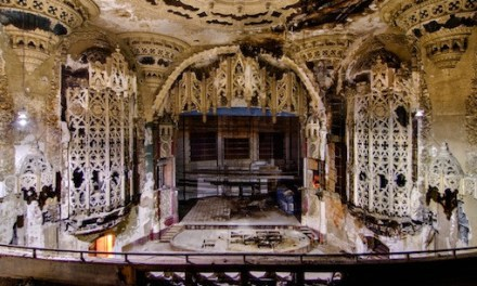 Detroit's Abandoned Buildings Actually Look Kind of Awesome