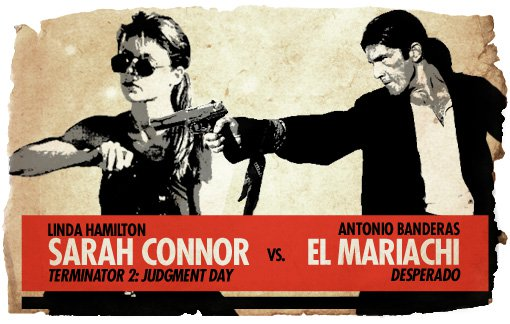 Ultimate Action-Hero Showdown: Sarah Connor vs. El Mariachi