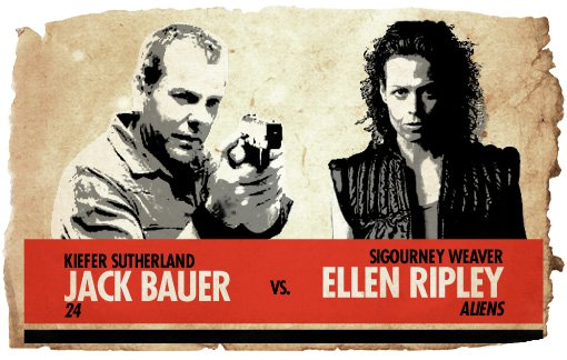 Ultimate Action-Hero Showdown: Jack Bauer vs. Ellen Ripley