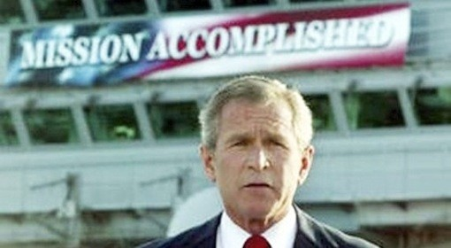 Was Osama Dead Yet? Quiz George Bush Mission Accomplished