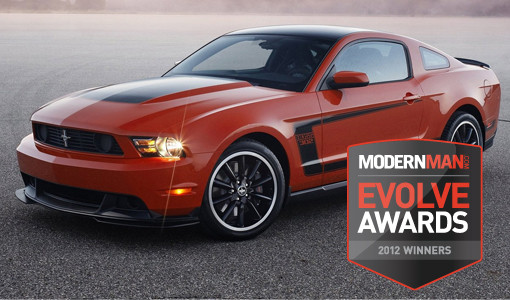 Evolve Awards: Ford Mustang Boss 302