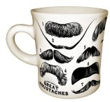 cool coffee mug moustache