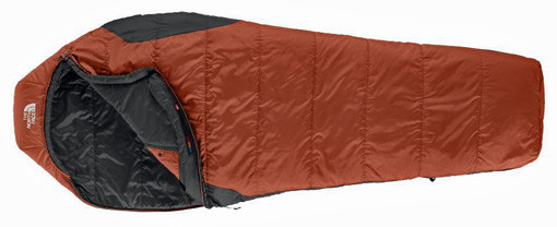 North Face sleeping bag for men
