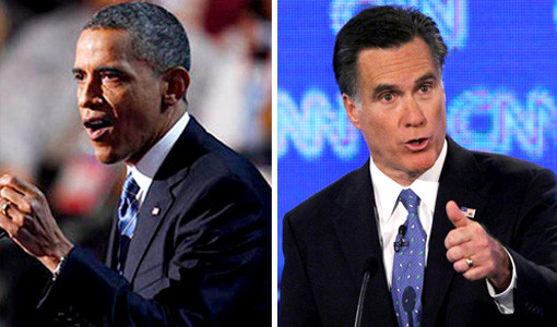2012 Presidential Election, Barack Obama, Mitt Romney