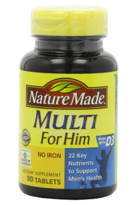 best multivitamin for men Nature Made Multi For Him