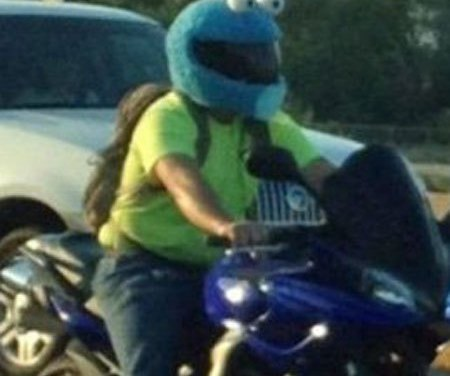 Insane Things People Wear on Motorcycles [Photos]