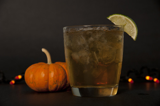 Dark & Stormy halloween drinks for guys