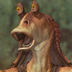 Smile As Jar-Jar Binks Gets Offed [Video]