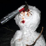 16 Pictures of Dead, Dying, Or Mutilated Snowmen