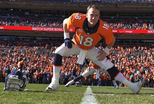 What is peyton manning thinking split
