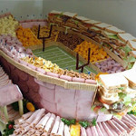 10 Amazing Football Stadiums … Made From Food