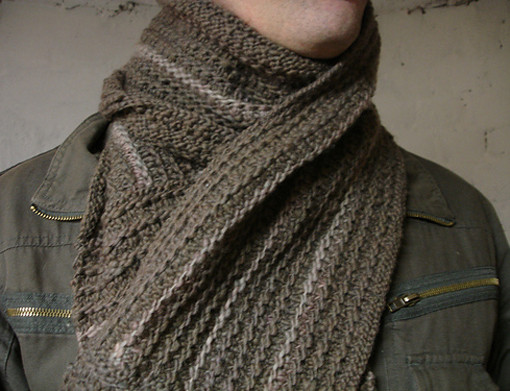 How To Wear A Scarf — Like a Man, Man