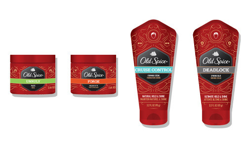 old spice for the hair deadlock cruise control forge