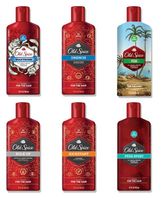 old spice for the hair review shampoo and conditioner