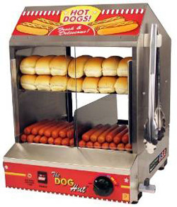 7 Essential Tailgating Supplies For tailgaters Dog Hut Hotdog Steamer and Merchandiser