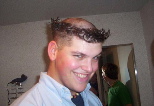 terrible hair cut for men