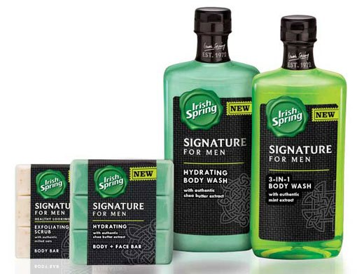 irish spring signature for men