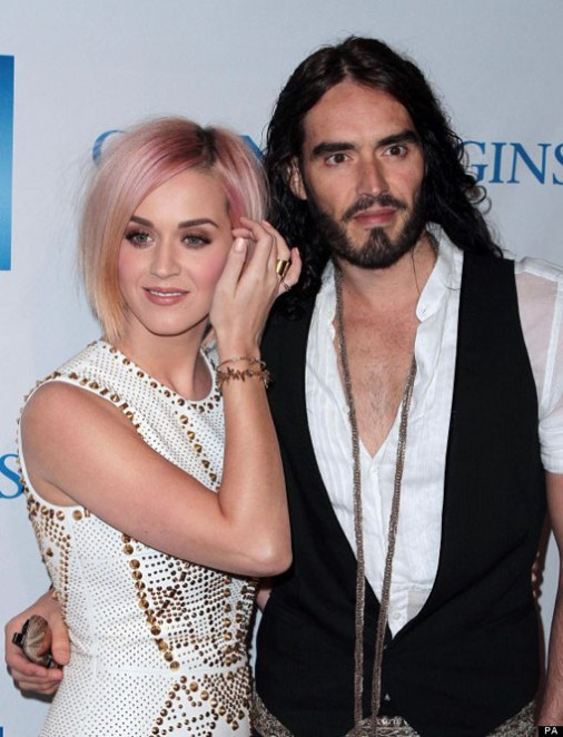 katy perry russel brand