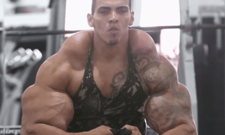 Video: Dude's Muscles Turn Into Concrete Blocks