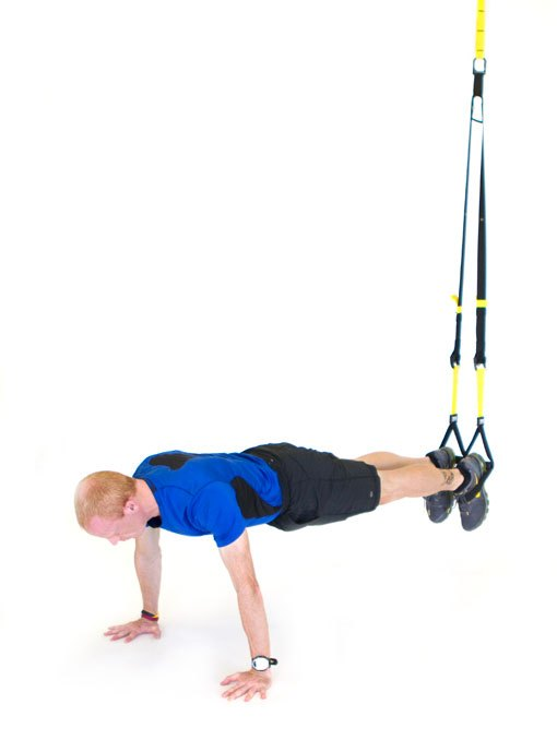 best trx workout for men mountain climber
