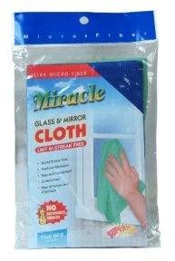 glass cleaner cloths