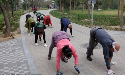 In China Crawling Is The New Jogging … Or Something