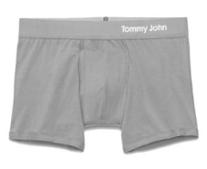 tommy john undies cool trunk grey