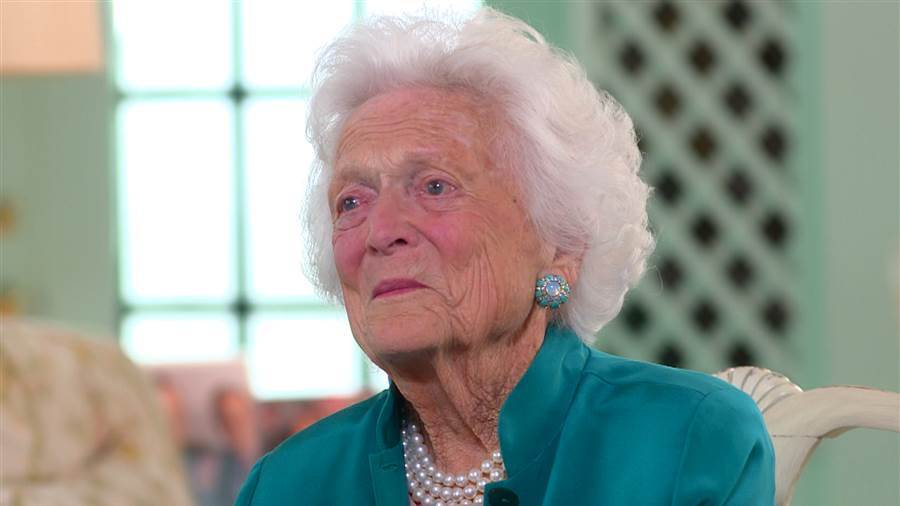 Barbara Bush not voting trump