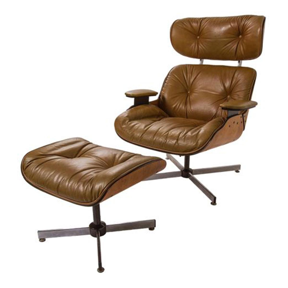 Grand Ottoman Mobler Ottoman Style Furniture Mid Century Eames Style Chair furniture Ottoman Style Chair