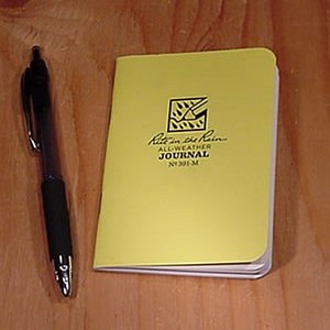 rite in the rain 391-M : Mini Stapled Notebook (Journal)