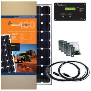 RV Solar Kit - 100 Watt