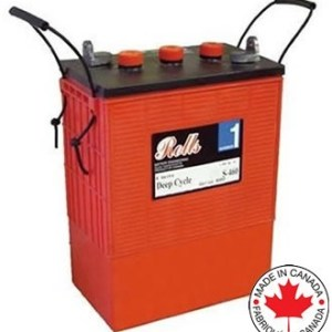 Rolls S-480, 6V, 480AHr, Flooded Deep Cycle Battery